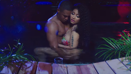Nicki Minaj calienta las redes junto a su novio en 'MEGATRON'