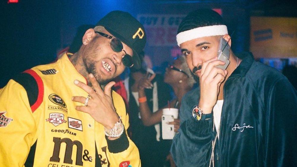 Drake y Chris Brown sellan su amistad con 'No Guidance'