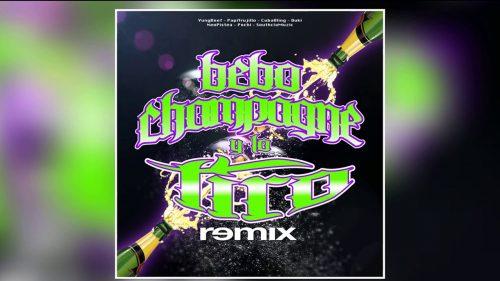 Duki y Neo Pistea se unen con Yung Beef, Cuban Bling y Papi Trujillo en el remix de 'Bebo Champagne y Lo Tiro'