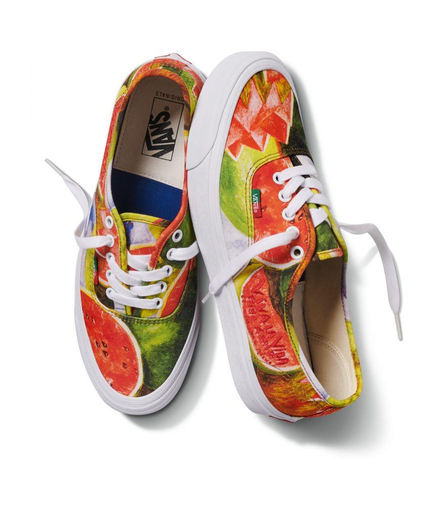 FA19 Vault OGAuthenticLX FridaKahlo Watermelons TrueWhite 870x1000 - Vans anuncia el lanzamiento de su colección dedicada a Frida Kahlo