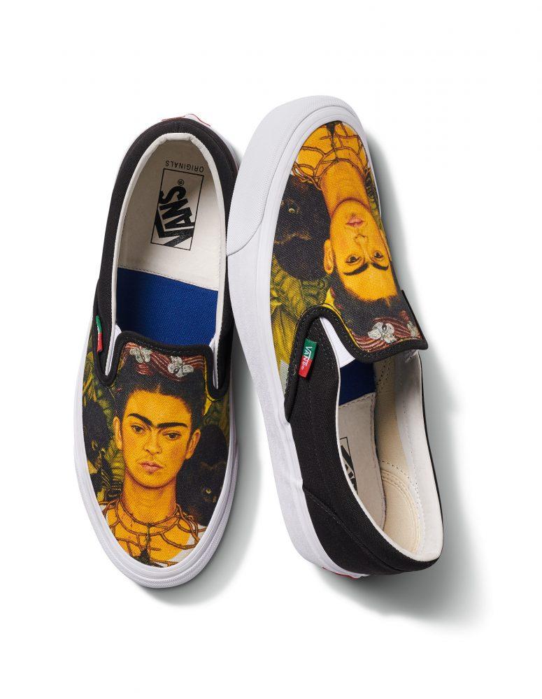 FA19 Vault OGSlip OnLX FridaKahlo Self Portrait ThornNecklace 775x1000 - Vans anuncia el lanzamiento de su colección dedicada a Frida Kahlo