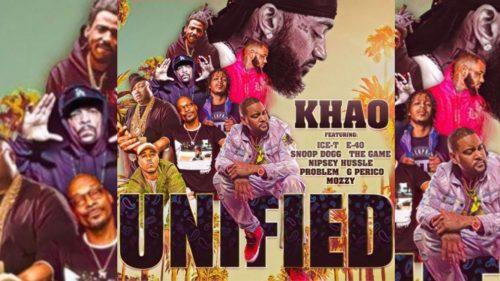 Khao recluta a Nipsey Hussle, E-40, Snoop Dogg y más en 'Unified'