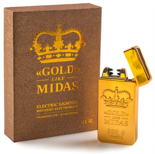 gold like midas front 500x498 - Presentamos «LIKE MIDAS» en exclusiva: quema billetes con lingotes de oro