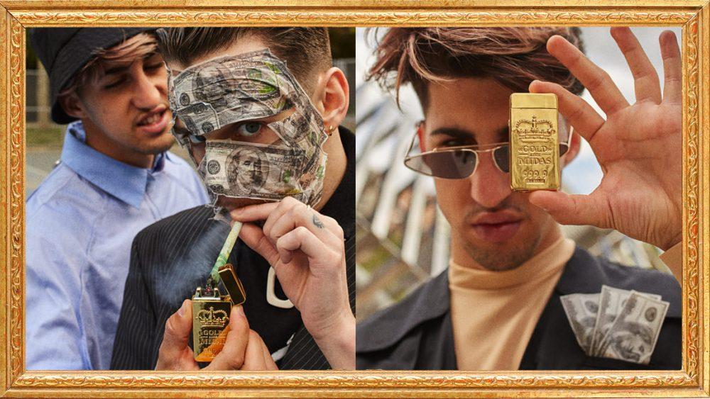 Presentamos «LIKE MIDAS» en exclusiva: quema billetes con lingotes de oro