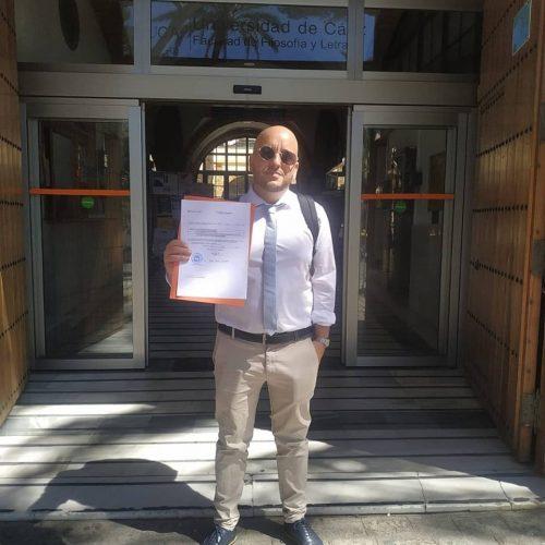 """miguel cum laude 500x500 - Un español consigue un doctorado """"Cum Laude"""" con una tesis sobre rap"""