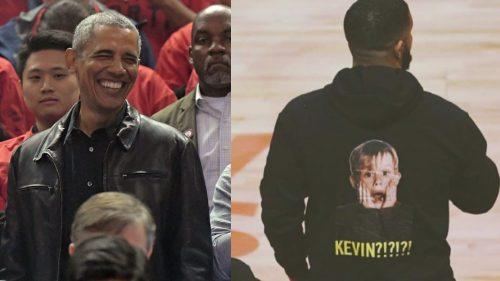 Drake, Obama y Macaulay Culkin protagonizan la 2ª Final de la NBA