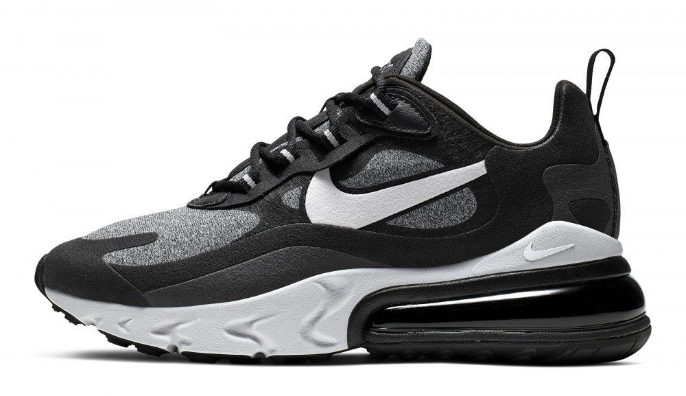 nike air max 270 react black 2 1000x577 - Entérate de todos los detalles de las nuevas Nike Air Max 270 React