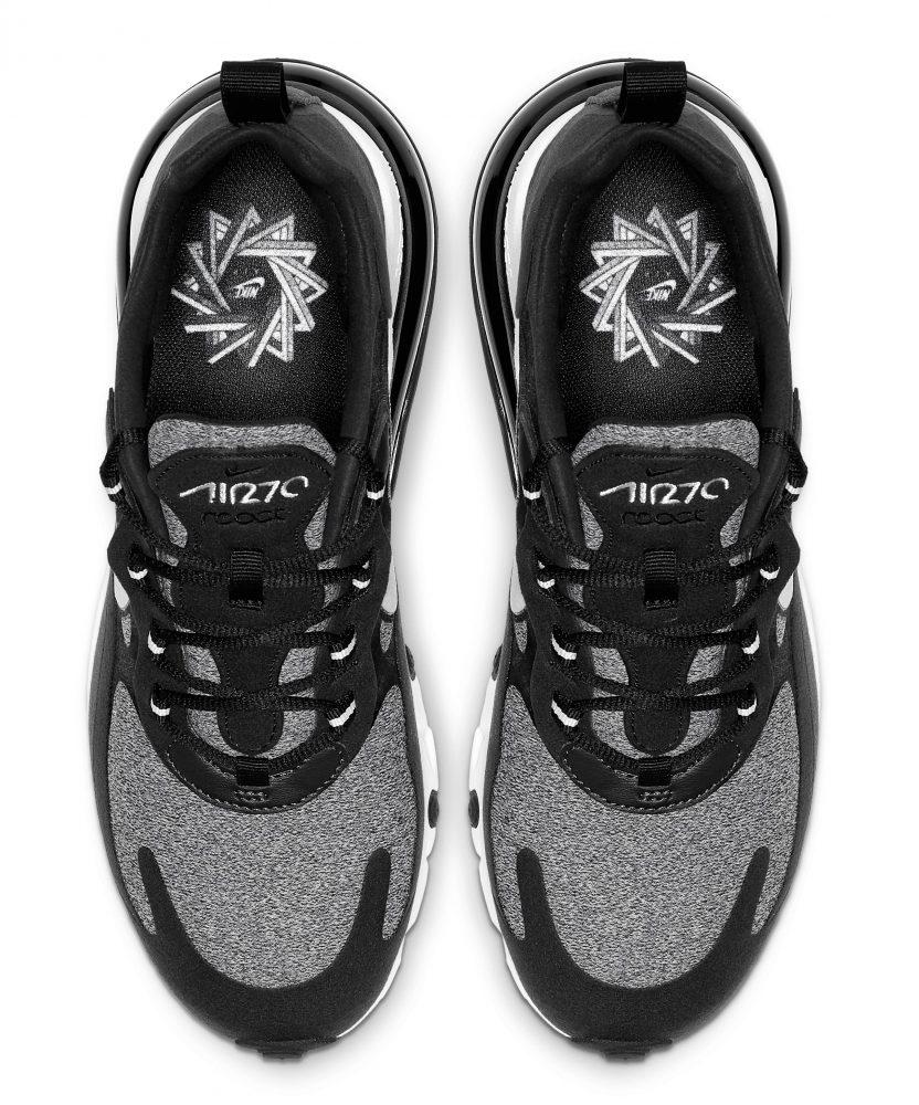 nike air max 270 react black 3 832x1000 - Entérate de todos los detalles de las nuevas Nike Air Max 270 React