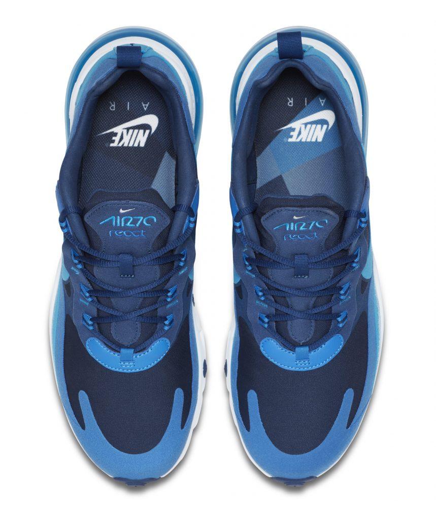 nike air max 270 react blue 3 859x1000 - Entérate de todos los detalles de las nuevas Nike Air Max 270 React