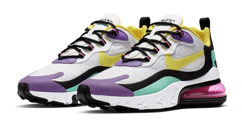 nike air max 270 react purple 1000x522 - Entérate de todos los detalles de las nuevas Nike Air Max 270 React