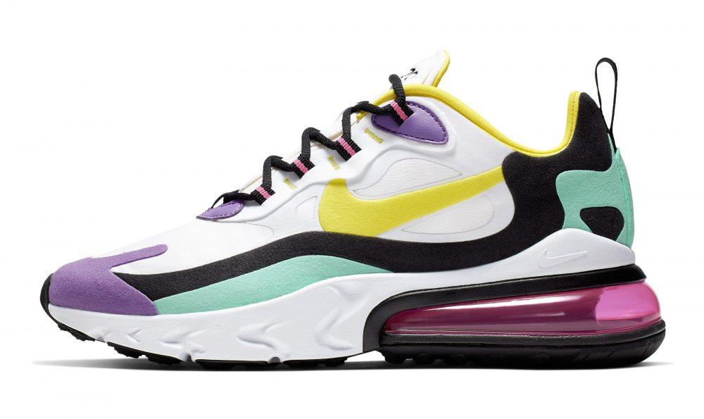 nike air max 270 react purple 3 1000x595 - Entérate de todos los detalles de las nuevas Nike Air Max 270 React