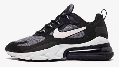 Ya tenemos los detalles de las Nike Air Max 270 React «Black & White»