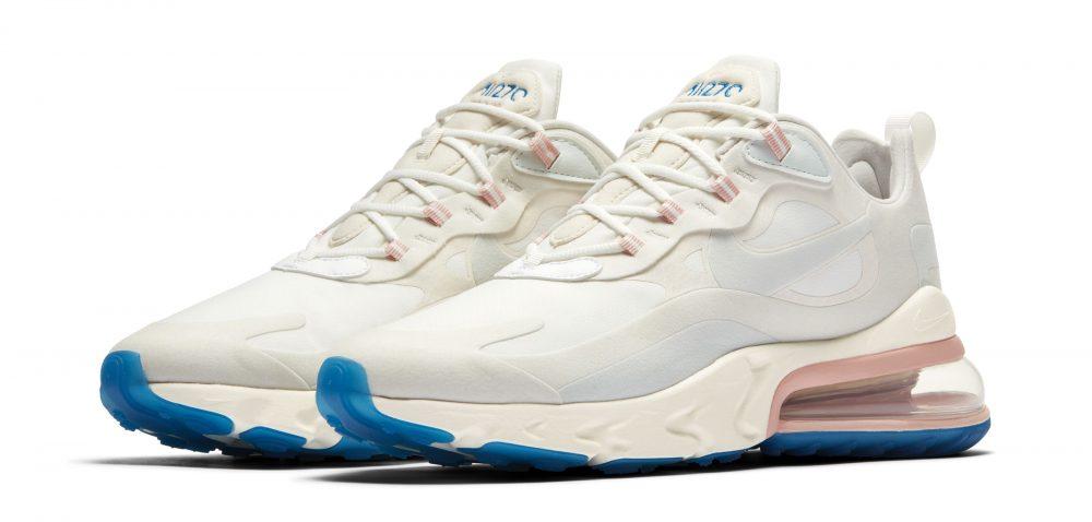 nike air max 270 react white pink 1000x478 - Entérate de todos los detalles de las nuevas Nike Air Max 270 React