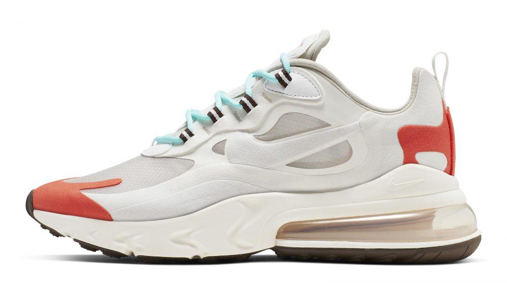 nike air max 270 react white red 2 1000x575 - Entérate de todos los detalles de las nuevas Nike Air Max 270 React