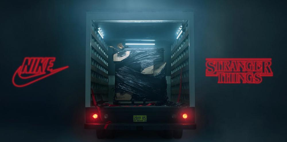 Nike y Stranger Things traerán los 80 a casa con su próxima colección