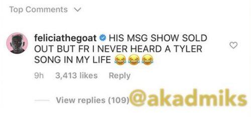 tyler 500x233 - DJ Khaled desprecia a Tyler, The Creator por el nº1 de la Billboard 200