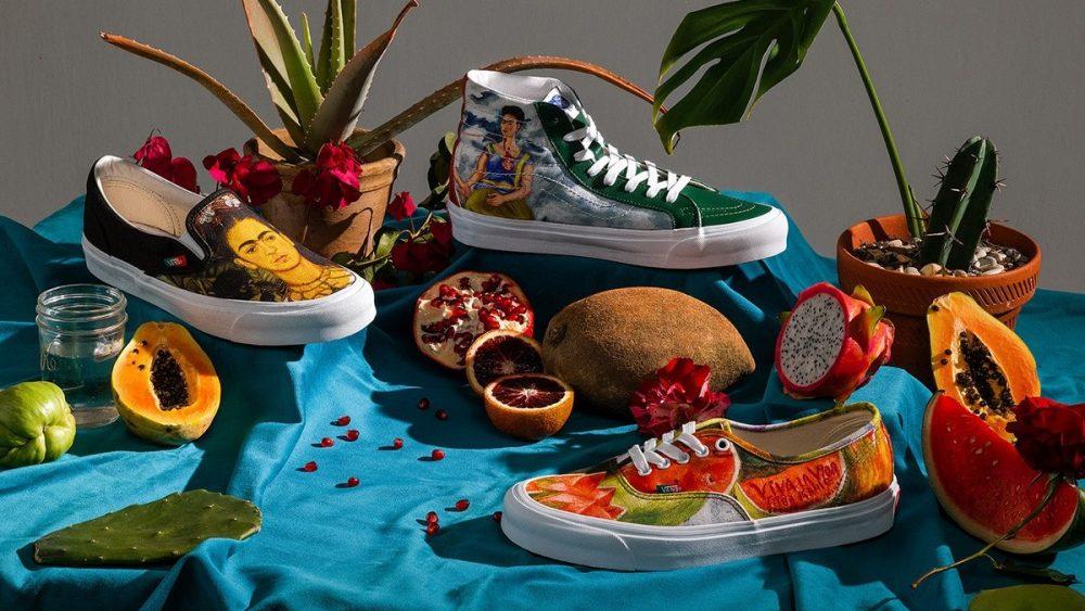 Vans anuncia el lanzamiento de su colección dedicada a Frida Kahlo