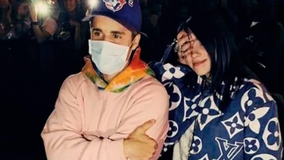 Billie Eilish se une a Justin Bieber, su ídolo, para el remix de 'Bad Guy'