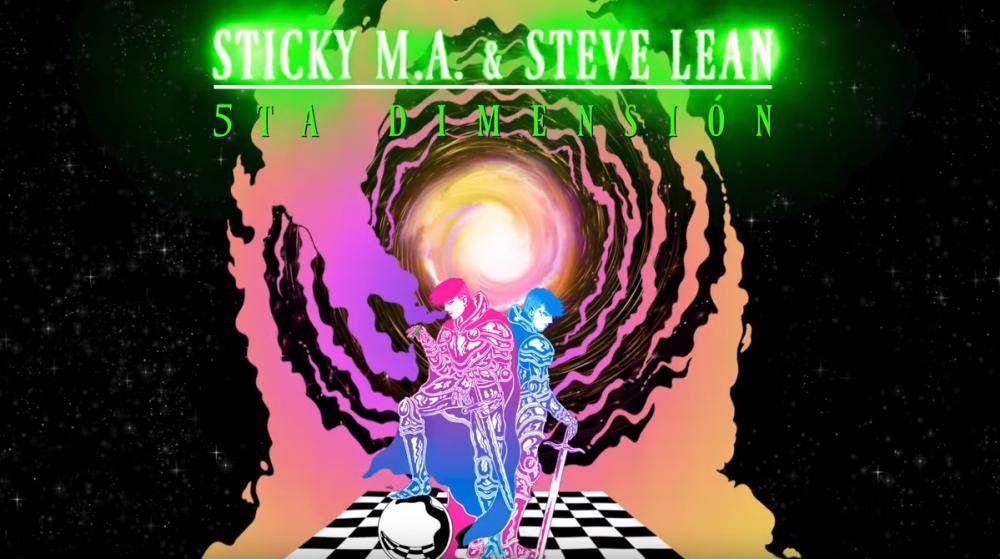 El álbum de Sticky M.A. y Steve Lean es un viaje a la '5ta Dimensión'