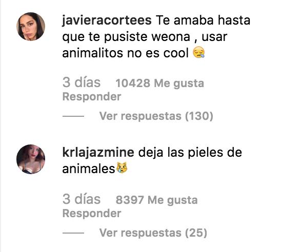 Captura de pantalla 2019 07 11 a las 20.49.41 - Dando caza a Rosalía: sobre el uso de pieles de animales en la moda