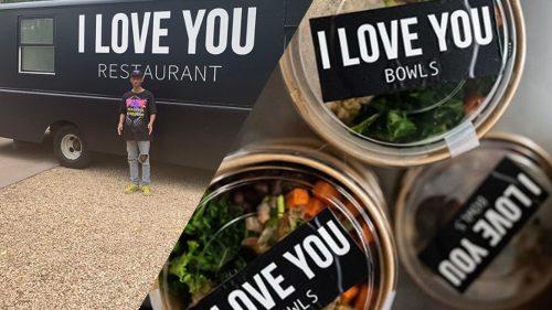 Jaden Smith ofrece comida vegana a gente sin hogar