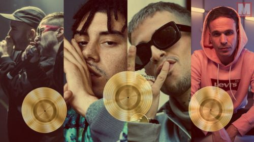 El Disco de Oro: 10 artistas urbanos que lo han conseguido en España