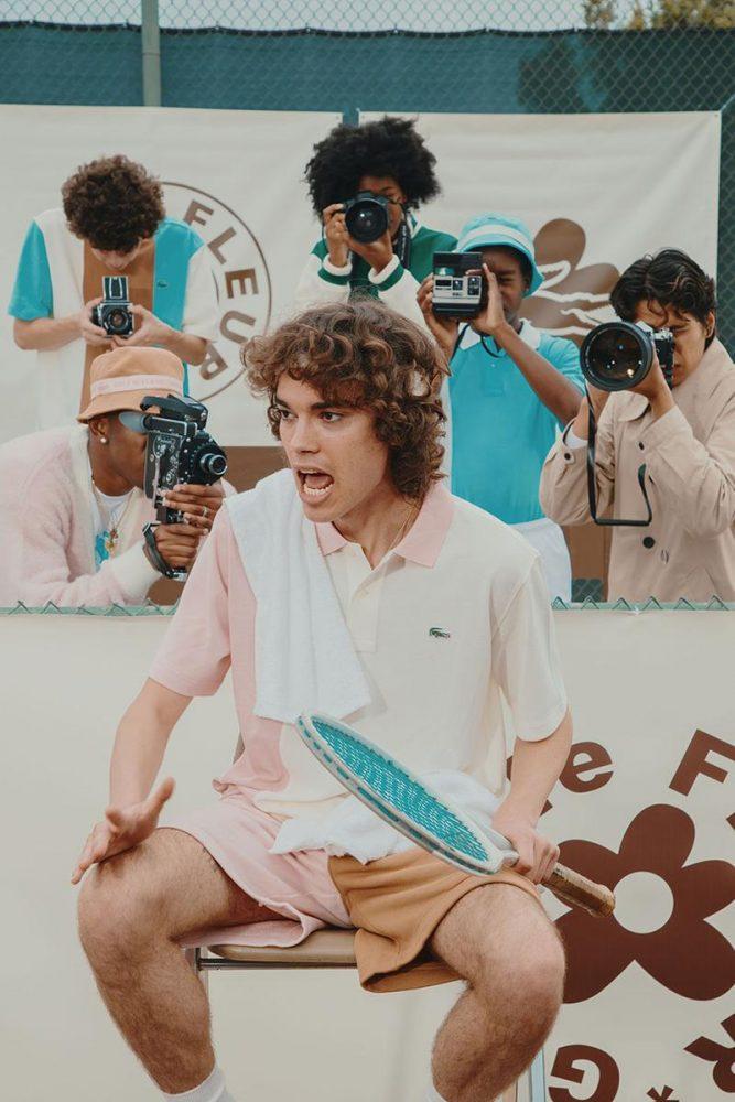 lacoste x le fleur 2 667x1000 - Nace Golf le Fleur x Lacoste: para ir al último grito como Tyler, The Creator