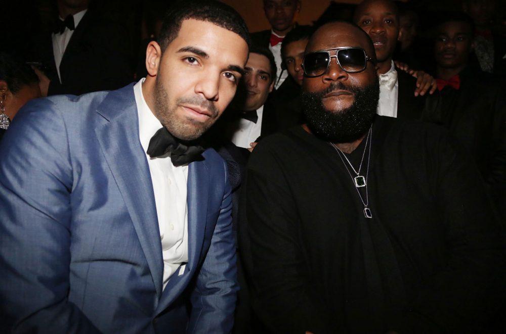 Rick Ross no se muerde la lengua en 'Gold Roses' junto a Drake