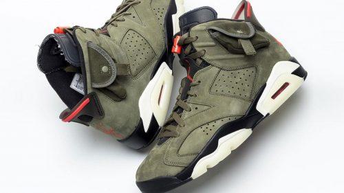 Las nuevas Air Jordan 6 x Travis Scott ya tienen fecha de lanzamiento