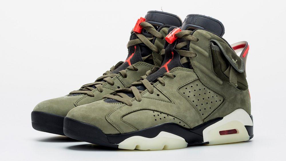 sanar Constitución silencio  Echa un vistazo a las nuevas Nike Air Jordan 6 de Travis Scott