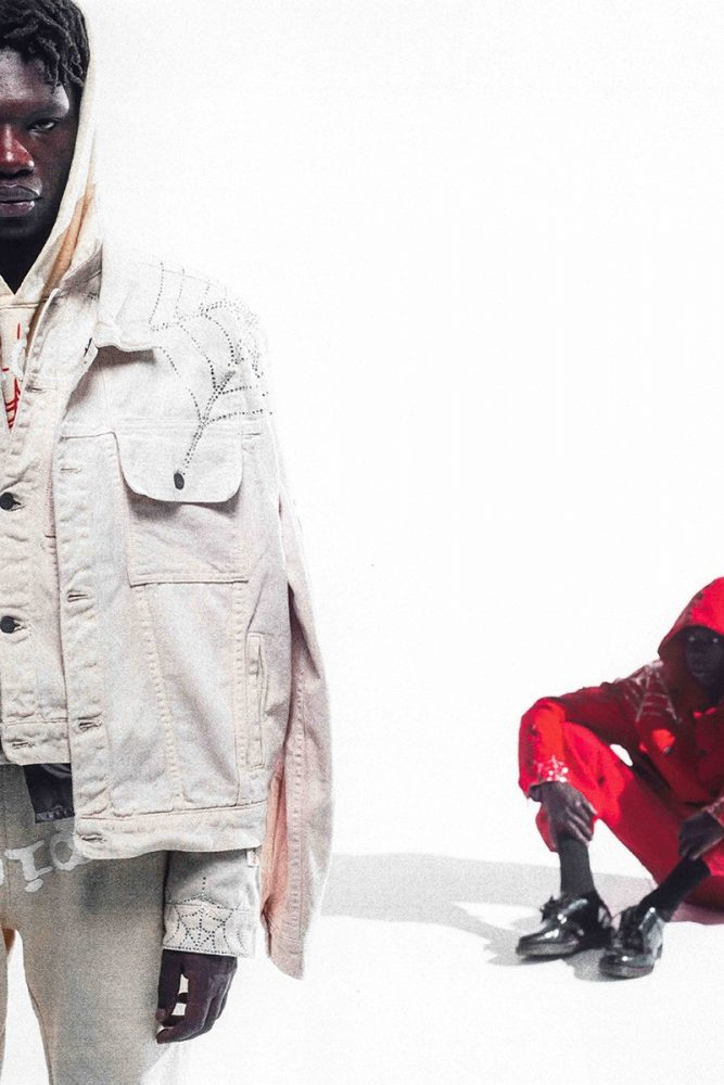 young thug presents first collection spider label 01 667x1000 - Young Thug presenta la primera colección de su nueva marca de ropa