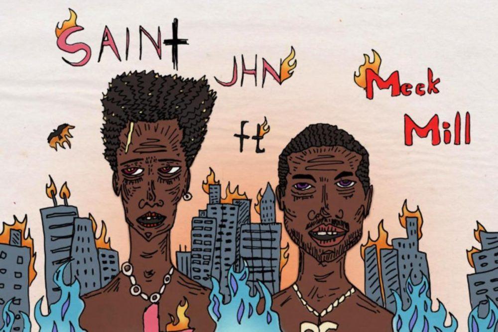 Meek Mill acompaña a Saint JHN en 'Anything Can Happen'