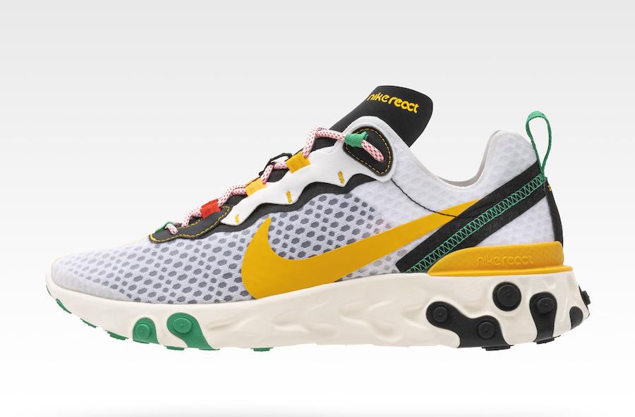 "Nike React Element 55 Sunburst Pack Release Date - Nike pone fecha de lanzamiento a su esperadísima colección ""Sunburst"""