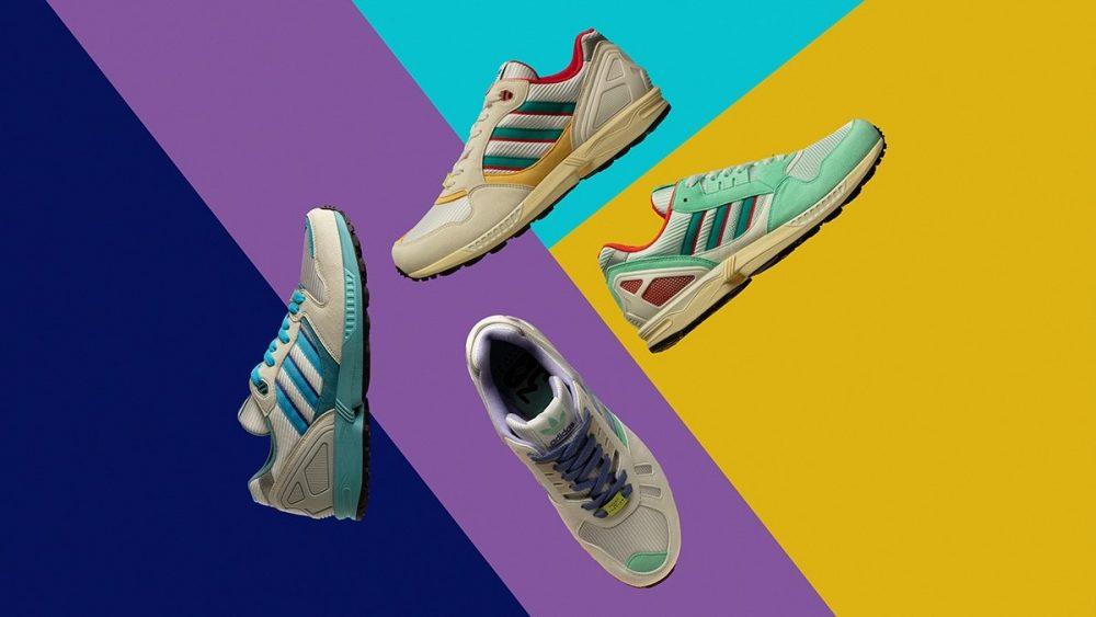 adidas celebra el 30 aniversario de las ZX reiventando sus colores clásicos