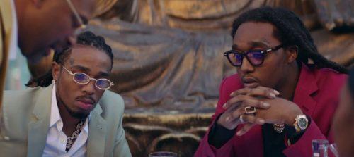 Migos se convierten en ladrones de calidad en el clip de 'Frosted Flakes'