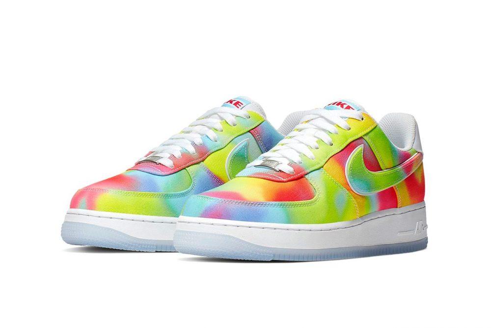 https   hypebeast.com image 2019 07 air force 1 07 premium mens shoe 02 1000x667 - Nike apuesta por el tie-dye en las nuevas Air Force 1 '07 Premium