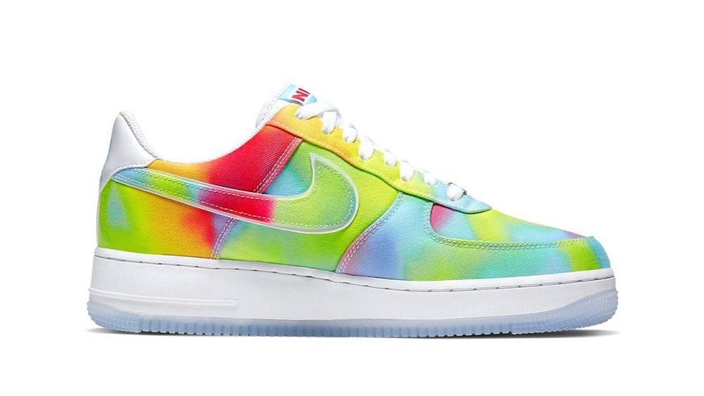 Nike apuesta por el tie-dye en las nuevas Air Force 1 '07 Premium