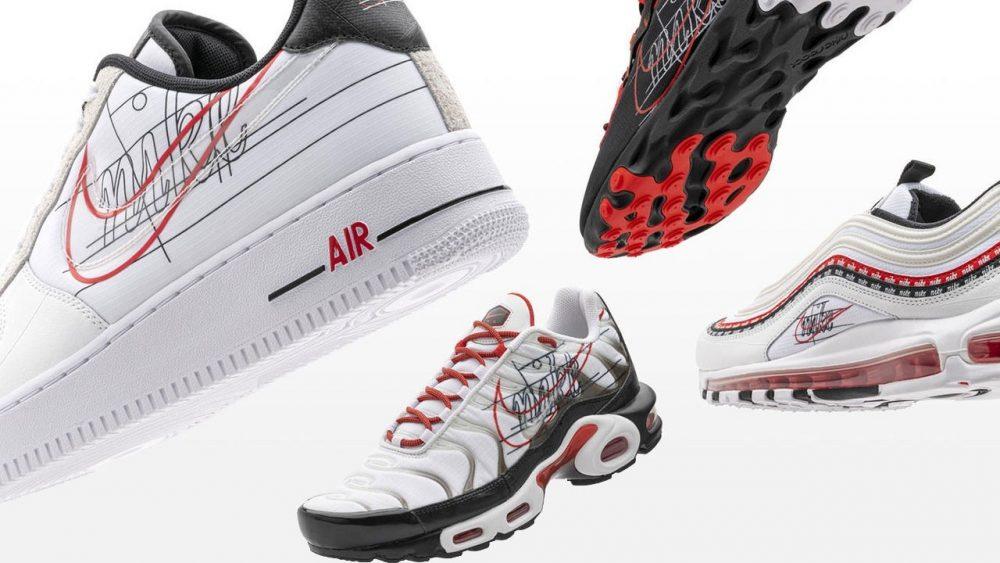 Nike reinventa su logo en la colección «Evolution of the Swoosh»