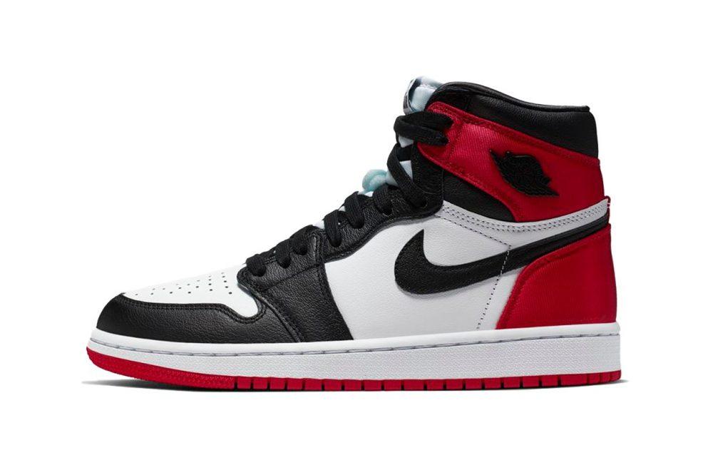 """https   hypebeast.com image 2019 08 air jordan 1 high bloodline 1 1 1000x666 - Las Air Jordan 1 """"Satin Black Toe"""" ya tienen fecha oficial de lanzamiento"""