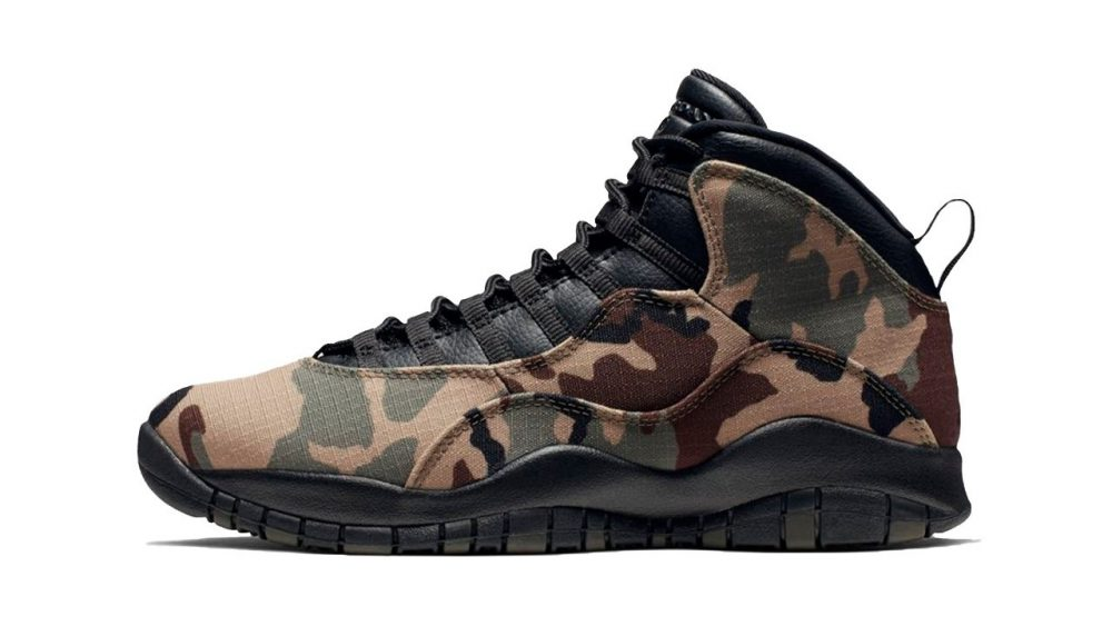 zapatillas air jordan camuflaje