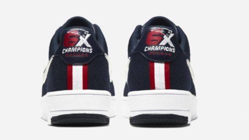 Nike celebra la victoria de los Patriots en la Super Bowl con unas Air Force