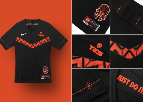 LPL X NIKE TopEsports Collage 3 rectangle 1600 500x357 - Nike presenta una colección de ropa junto a League Of Legends