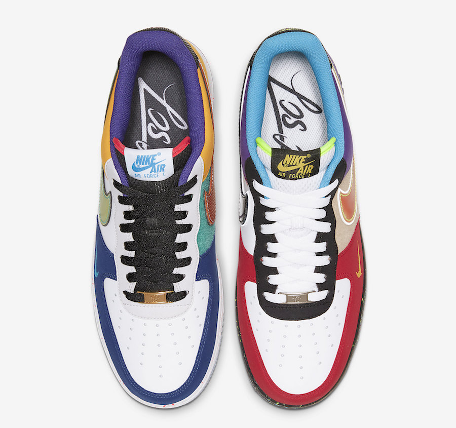 """Nike Air Force 1 Low What The LA CT1117 100 Release Date 3 - Nike homenajea a Los Ángeles con las Air Force 1 Low """"What The LA"""""""