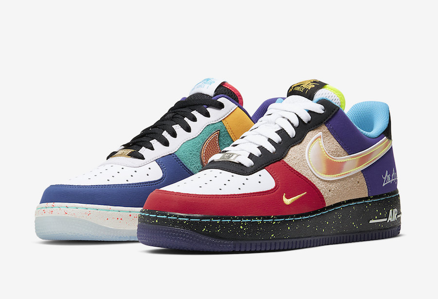 """Nike Air Force 1 Low What The LA CT1117 100 Release Date 4 - Nike homenajea a Los Ángeles con las Air Force 1 Low """"What The LA"""""""