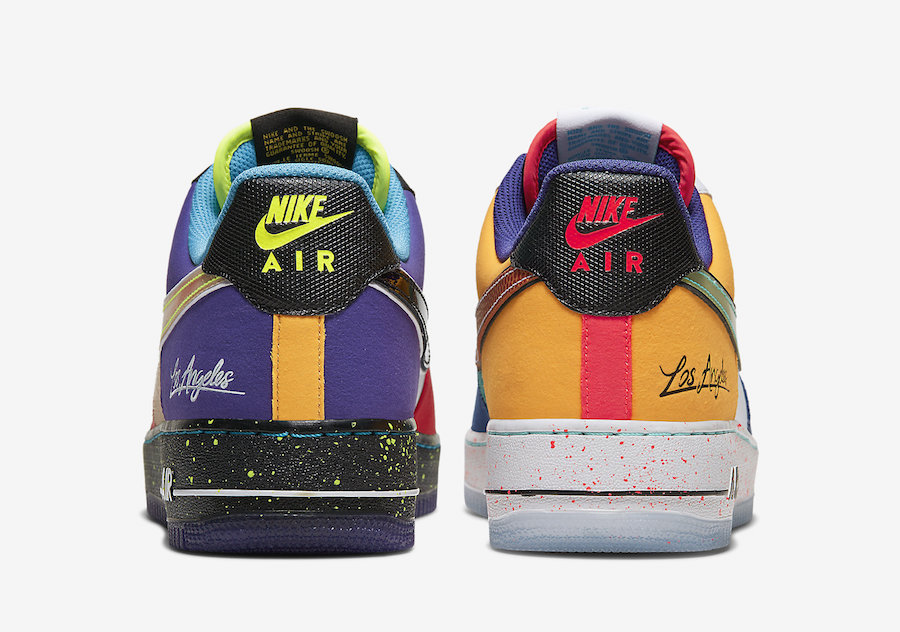 """Nike Air Force 1 Low What The LA CT1117 100 Release Date 5 1 - Nike homenajea a Los Ángeles con las Air Force 1 Low """"What The LA"""""""