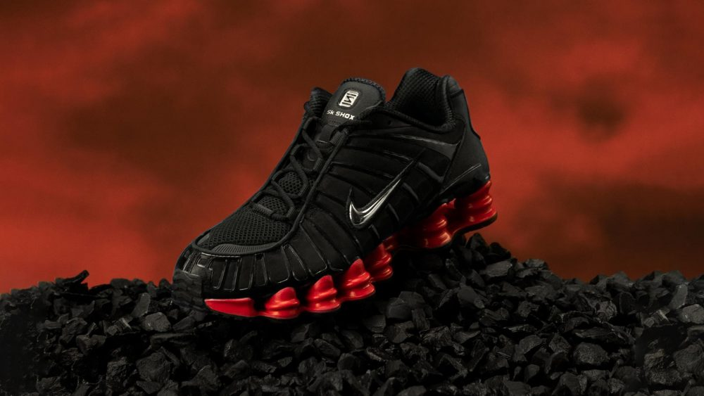 Nike presenta las zapatillas SK Shox, su nueva colaboración con Skepta