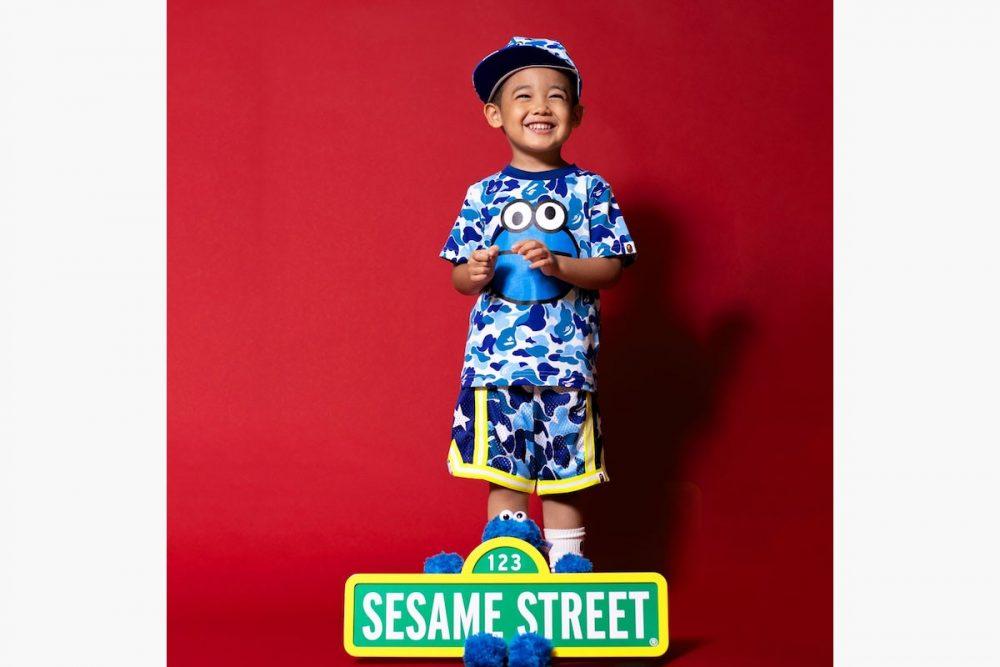 "bape sesame street capsule 2019 06 1000x667 - BAPE apuesta por ""Barrio Sésamo"" para su colección más adorable"