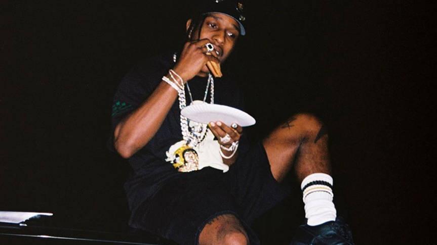 A$AP Rocky enseña unas nuevas CPFM x Nike Air Force 1 Low