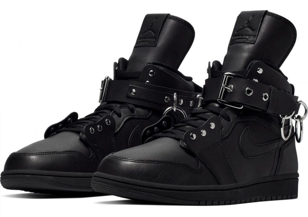 comme des garcons air jordan 1 high black cn5738 001 pair 1000x706 - Las Air Jordan 1 High x Comme Des Garçons ya tienen fecha de salida