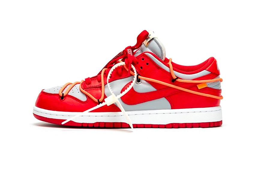 "https   hypebeast.com image 2019 09 off white nike dunk low university red best look ct0856 600 001 1 - Ya están aquí las nuevas Dunk Low ""University Red"" de Nike x Off-White™"